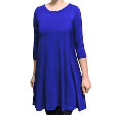 2cce71b0498 item 2 USA Women's Boatneck 3/4 Sleeve Tunic Top Dress Shirt Blouse S M L  1X 2X 3X Plus -USA Women's Boatneck 3/4 Sleeve Tunic Top Dress Shirt Blouse  S M L ...
