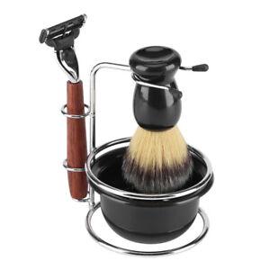 Mens-Facial-Grooming-Kit-Men-Shaving-Brush-Bowl-Set-Shave-Razor-Holder-Stand