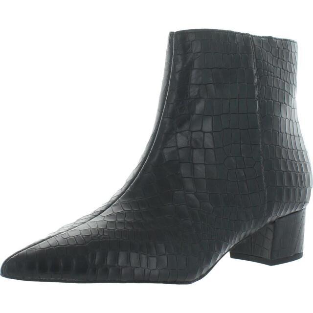 Corso Como Womens Freen Black Ankle Boots Shoes 10 Medium (B,M) BHFO 4757