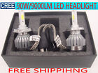 CREE 90W 9000LM LED headlight car bulb light lamp kit H1 H4 H7 H11 white 6000K