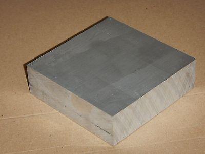 GRADE 6082 T6 BLOCK 100mm x 100mm x  30mm BILLET ALUMINIUM BAR