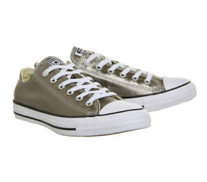 Details about Converse Chuck Taylor All Star Olive Metallic Herbal Oxford Sneaker 153182F