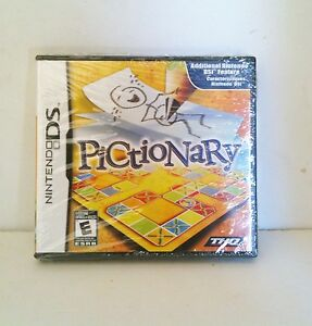 PICTIONARY-For-NINTENDO-DS-Lite-DSi-XL-3DS-2DS-BRAND-NEW-SEALED