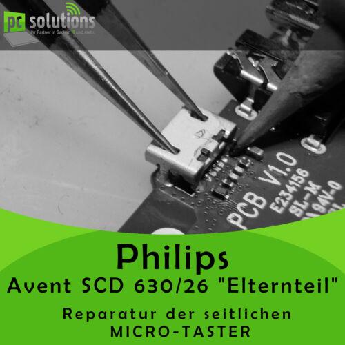 REPARATUR Micro Taster Knopf schalter seite Philips Avent SCD 630//26 ELTERNTEIL
