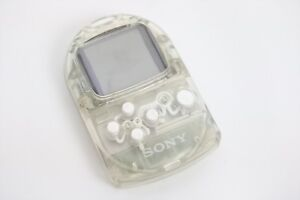 PS-POCKET-STATION-Console-Crystal-SCPH-4000-Sony-Playstation-Game-Japan-C