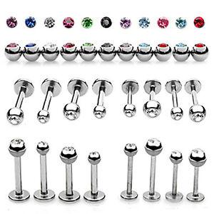 16G-3MM-Ball-Colors-Stud-Gem-Crystal-CZ-Labret-Monroe-Lip-Cheek-Body-Piercing