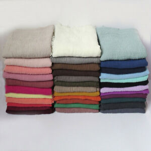 NEW-STYLE-CRINKLE-Plain-Hijab-Maxi-scarf-Headscarf-CRIMP-Shawl-Ruffle-Pashmina