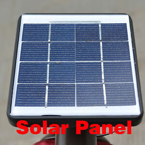 Solar Panel For Led Lights Patio Umbrella Garden Outdoor