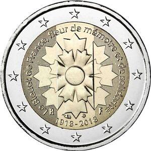 Frankreich-2-Euro-Gedenkmuenze-Kornblume-2018-bankfrisch
