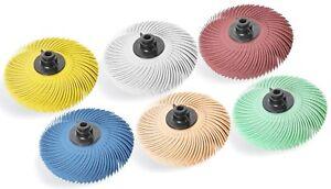 "Plastic Hub Radial Bristle Disc 3/""  6 pcs set Radial bristle Radial Brush"