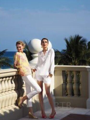 Eté Nwt Blanc Lilly 00 Pulitzer Resort 158 00 Pantalon Capri 0 Pant Luxueux 5UIqzqRxw