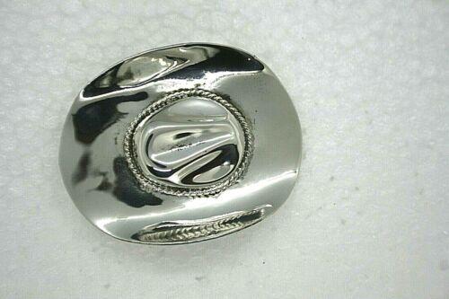 Vintage Mexican Sterling Silver Cowboy Hat Pin/Bro