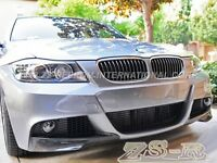 Bmw E90 E91 05-08 Performance Style M-tech Carbon Fiber Front Splitter Lip 2pcs