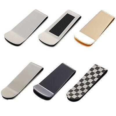 Geldscheinklammer Geldklammer Geldclip Geldspange Geldbeutel Silber Carbon Clip 2019 New Fashion Style Online