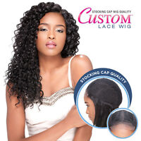 Sensationnel Stocking Cap Quality Synthetic Hair Custom Lace Wig - Bohemian