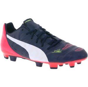 126dce5a3471 PUMA EVOPOWER 3.2 FG Men s Shoes Soccer Trainers Blue 103215 sz 6