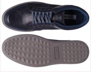 5911dbd65e4 Steve Madden Men s Gasper Fashion Sneaker Navy Size 7 New With Box ...