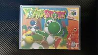 Yoshi's Story Nintendo 64 Box Art And Case No Game