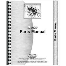 Engine Parts Manual For Buda K 369