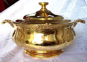 Image result for gold soup tureen