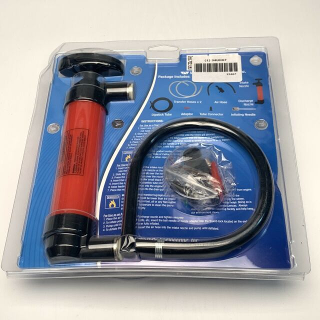 WirthCo 32467 Funnel King Red Hand Transfer Pump