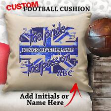 Personalised Tottenham Spurs Football Cushion Custom Cover Canvas Gift