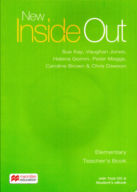 Macmillan NEW INSIDE OUT Elementary Teacher's Book with Test CD & e bk Pack @NEW