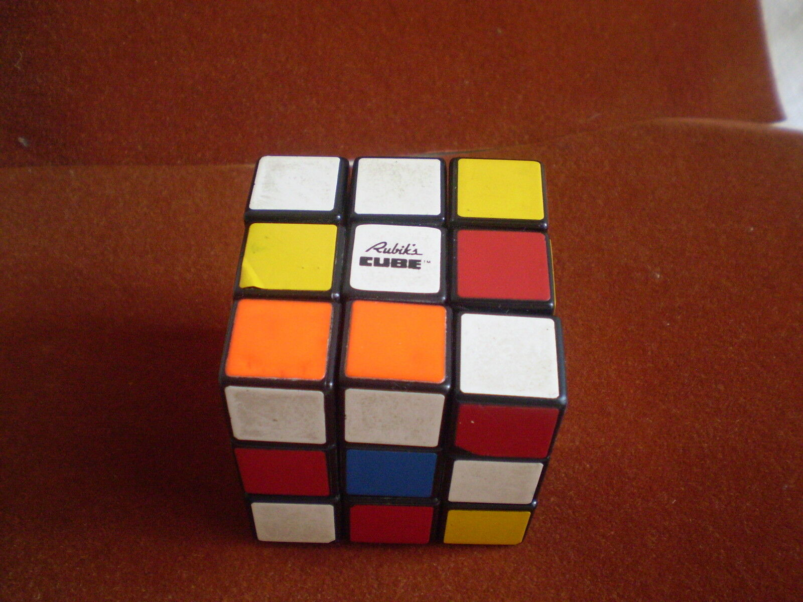 VINTAGE  dice RUBIKUB labeled original 1970, Boys & Girls, Rubik's cube