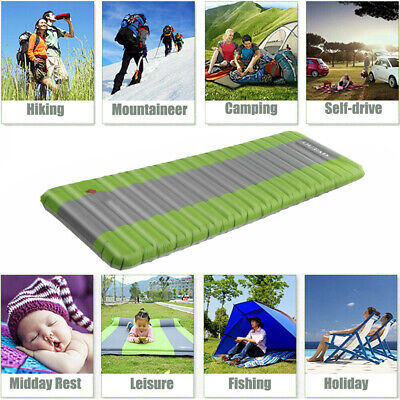 Splicable Single Self Inflating Camping Sleeping Mattress 75D Pongee Fabric