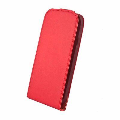 Leder-Imitat Hülle Etui Cover Handy Schutzhülle Klapp Tasche für Huawei Handys