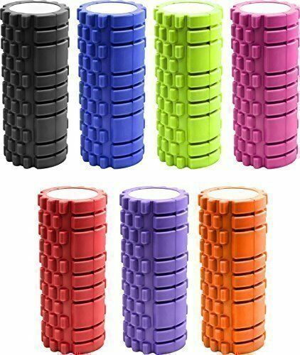Textured Yoga Massage Foam Roller Gym Fitness Pilates Physio Trigger Point Sport