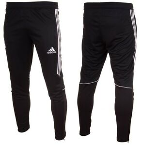 Adidas-Slim-Fit-Tango-Tapered-Mens-Training-Tracksuit-Zip-Bottoms-Pants-Sports