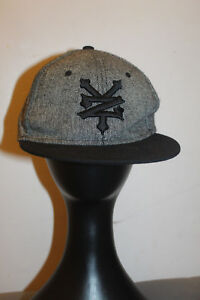 ed6355c5153 Zoo York Men s Gray   Black Baseball Cap SnapBack One Size