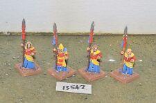 high elf spearmen 4 champions metal oop rare citadel (13542)