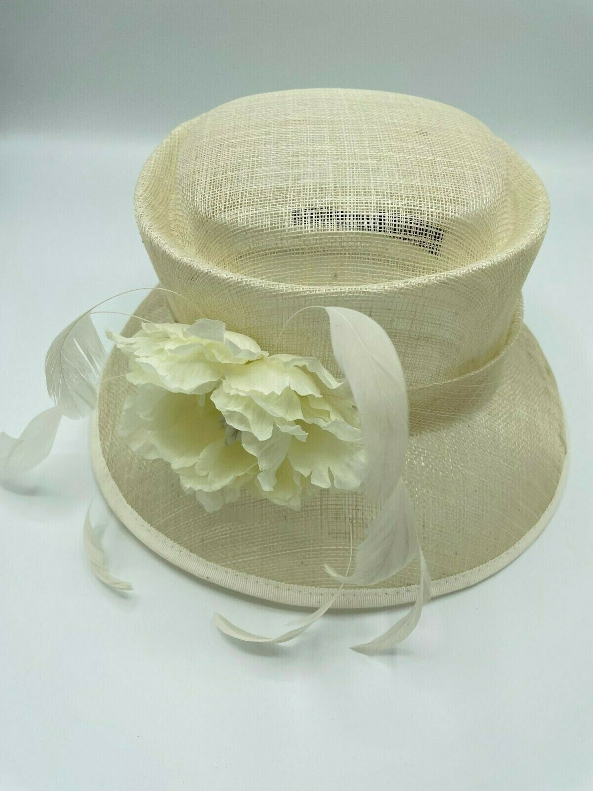 * Ladies cream formal MONSOON hat, wedding, Ascot, church, mother of the groom