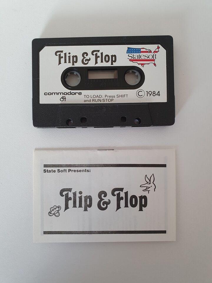 Flip & Flop fra Statesoft, Commodore 64