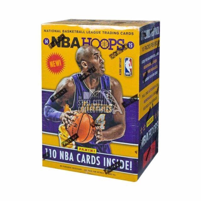 2014-15 Panini NBA Hoops Basketball 10ct Blaster Box