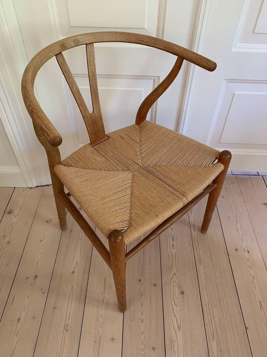 Hans J. Wegner, stol, Ystol i eg, Ystol i eg i perfekt pa