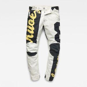 G-STAR-Homme-5622-3D-Conique-Couleur-Jeans