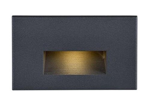 Bronze 3000K 120 Volt Nuvo LED Horizontal Step Light Fixture
