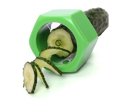 Mini Cucumbo Spiral Cucumber Carrot Peeler Slicer Vegetable Fruit Kitchen Gadget