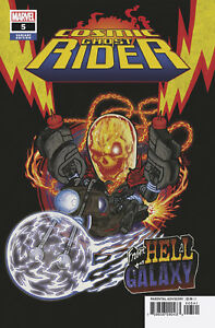 COSMIC GHOST RIDER #5 (OF 5) SUPERLOG VARIANT (14/11/2018)