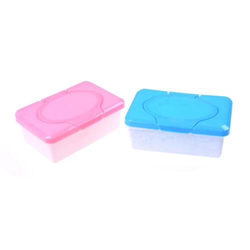 Wet Tissue Paper Case Care Baby Wipes Napkin Storage Box Holder Containe Lb PR