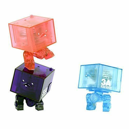 World War Robot 3AGO Clear Square R1 Set 1//9 action figure threeA JAPAN 2019