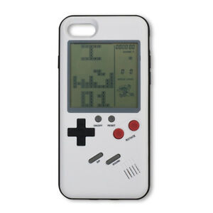 release date 07911 77af4 Details about Gameboy Phone Case Back Cover Tetris Game Boy Player For  iPhone 6 7 8 Plus X