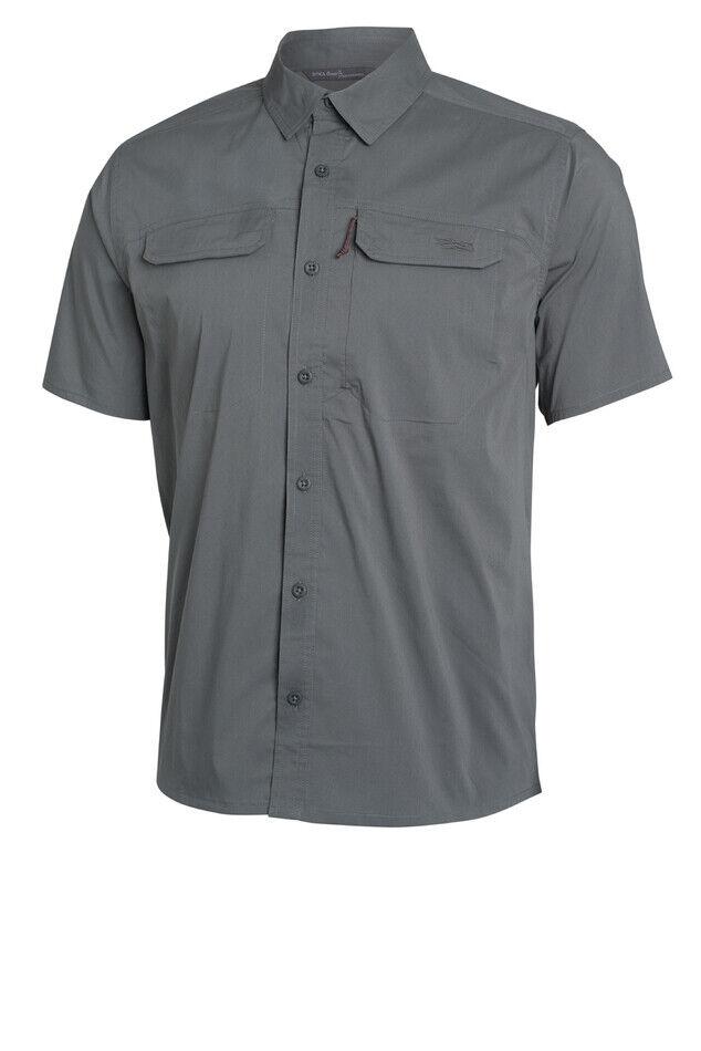 Sitka Globetrojoter Camisa Manga Corta Sombra