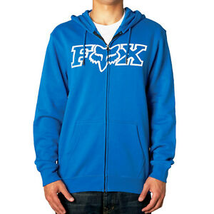 Legacy Fheadx hoody blauwe Blu Small 14626 Heren Fox 002 Fleece hoodie Racing Zip S5nzWqg