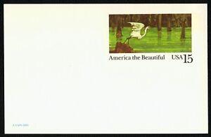 #UX129 15c America El Hermoso: Herron, Nuevo Cualquier 4=