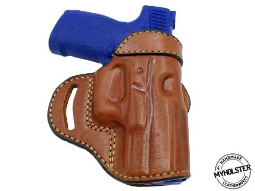 SIGSauerP250 Compact  OWB Open Top Leather CROSS DRAW Holster