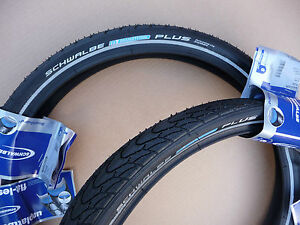 Pair Of Schwalbe Marathon Plus 20x1 75 47 406 Bicycle Tyres Bike